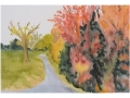 'Autumn Aura'_watercolor_7.25x10.5_$200