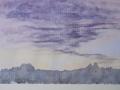'Rousillon At Dawn'_watercolor_7.25x10.5_$300