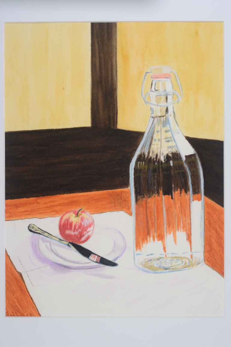 Still Life With Apple_watercolor_12x9_$350.JPG