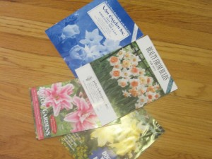 Bulb catalogs. I've ordered from John Scheepers for many years.