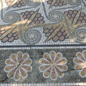 A sample of the many mosaics
