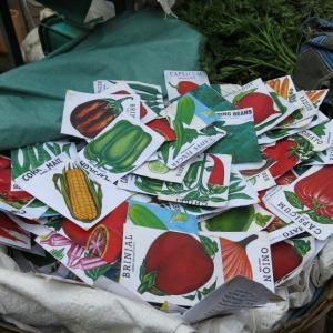 Vegetale seed packets